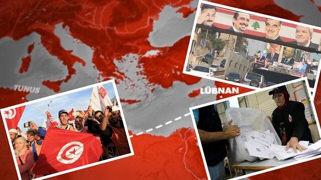 Bir günde iki seçim: Tunus ve Lübnan