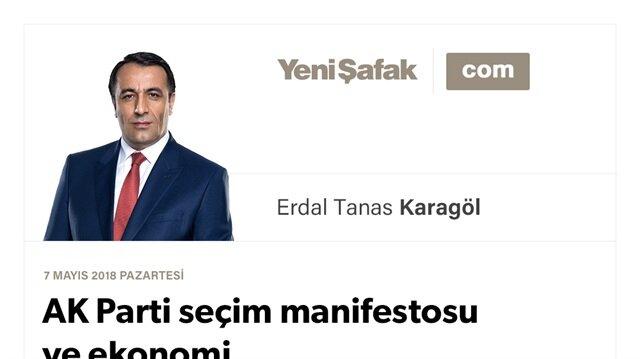 AK Parti seçim manifestosu ve ekonomi