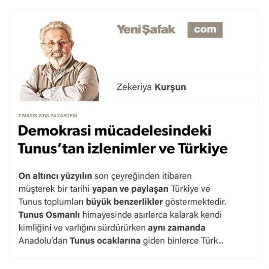 Demokrasi mücadelesindeki Tunus'tan izlenimler ve Türkiye