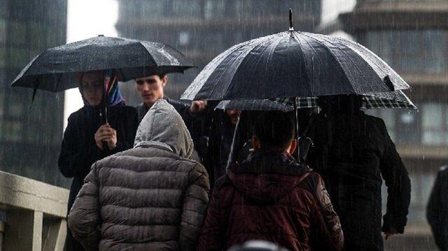 İstanbul ve 3 ile kuvvetli yağış uyarısı