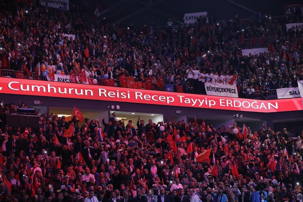 Cumhurbaşkanı Recep Tayyip Erdoğan, AK Parti'nin seçim manifestosunu açıkladı.
