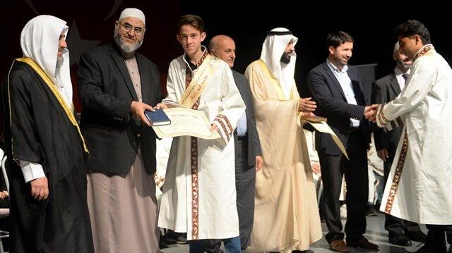98 Suriyeli hafız için icazet töreni düzenlendi
