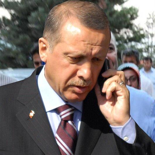 Erdoğan'dan Mirzabeyoğlu'nun ailesine telefon