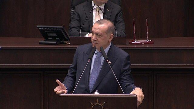 Erdoğan, Dikili ağacınız yok. Ne dikeceksiniz onu söyleyin!