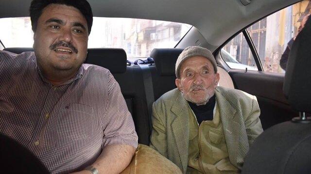 80 yaşındaki Mehmet Sütçü, hayatımda ilk defa böyle bir durumla karşılaştığını belirtti.