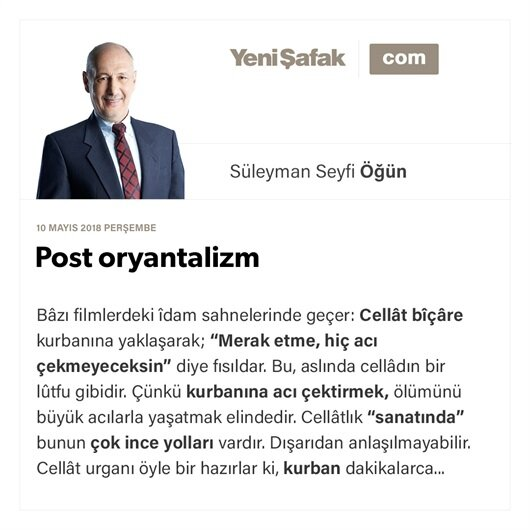 Post oryantalizm