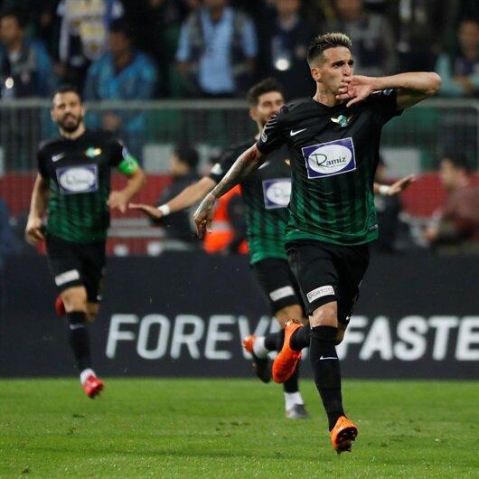 Akhisarspor-Fenerbahçe: 3-2