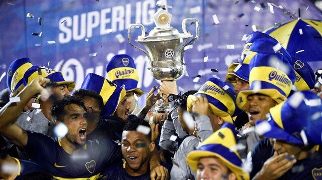 Arjantin'de şampiyon belli oldu