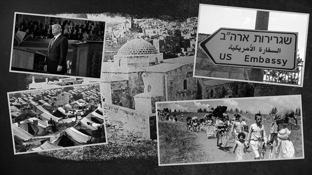 Tarihi Değiştiren Olaylar: 70 yıl sonra aynı senaryo: Filistin