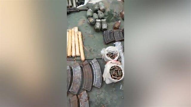 Şemdinli'de PKK mühimmatları ele geçirildi