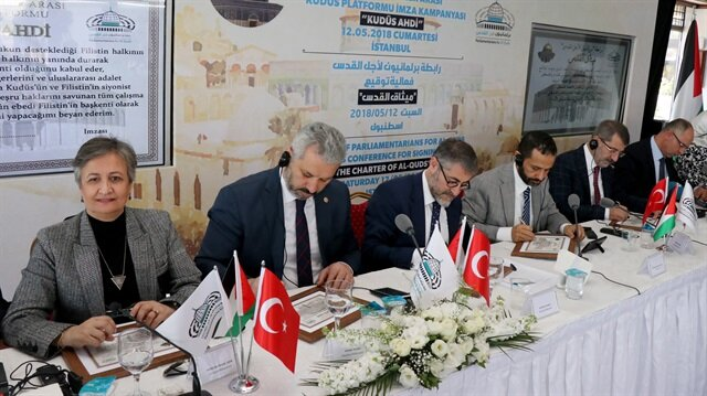 Lawmakers sign Jerusalem Oath in defense of sacred city