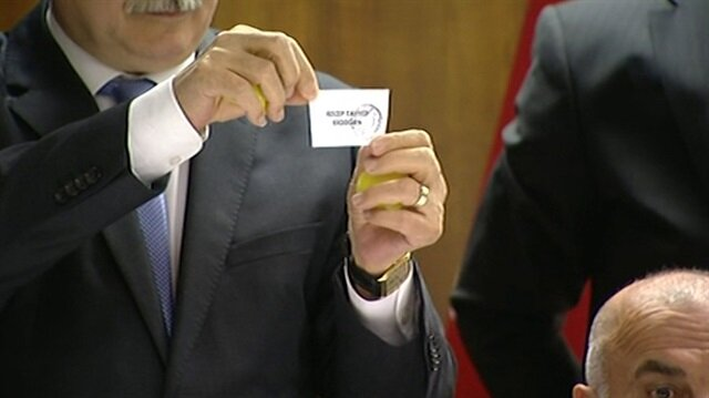 Cumhurbaşkanı adaylarının oy pusulalarındaki yerleri belli oldu