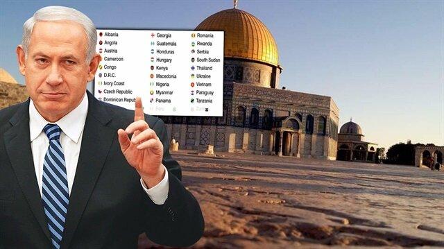 32 ülke Netanyahu'nun davetini kabul etti
