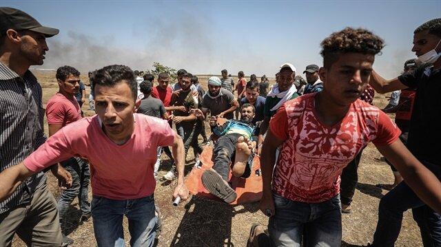 Filistin'de şehitler için ulusal yas ve genel grev ilan edildi