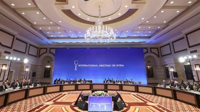 Syria warring sides, mediators close 9th round of peace talks in Astana