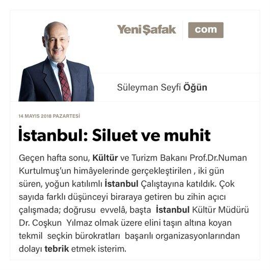 İstanbul: Siluet ve muhit