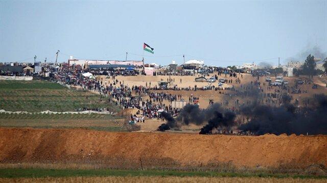 Gazze'de yeniden direniş başladı.