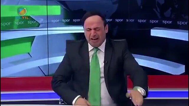 Konyaspor ligde kaldı, spiker gözyaşlarına boğuldu