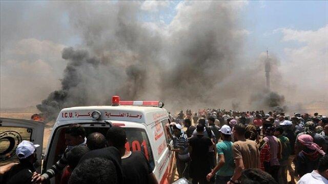 ارتفاع عدد شهداء المجزرة الإسرائيلية بغزة إلى 60