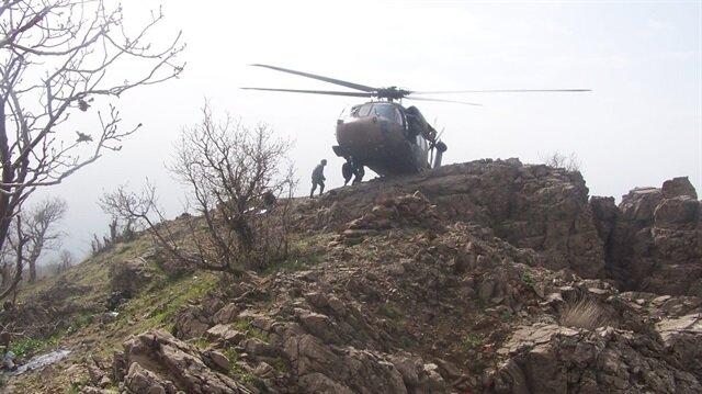 Hakurk'ta 4 terörist daha öldürüldü