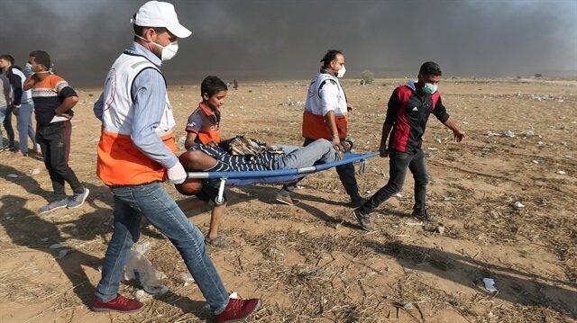 Gazze'de 1 şehit daha