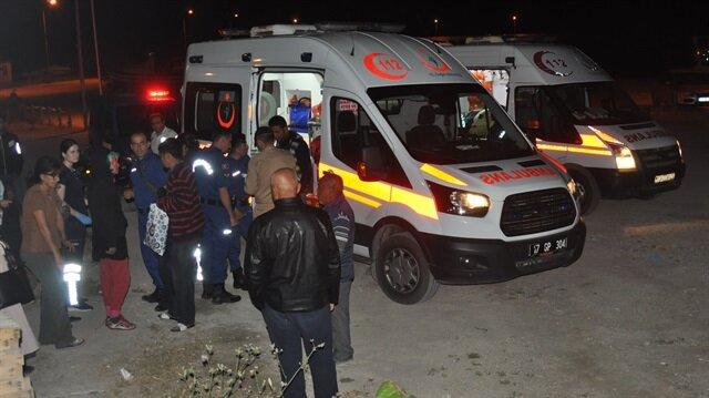 Cesetler, savcının incelemesinin ardından Ayvacık Devlet Hastanesi morguna gönderilecek.