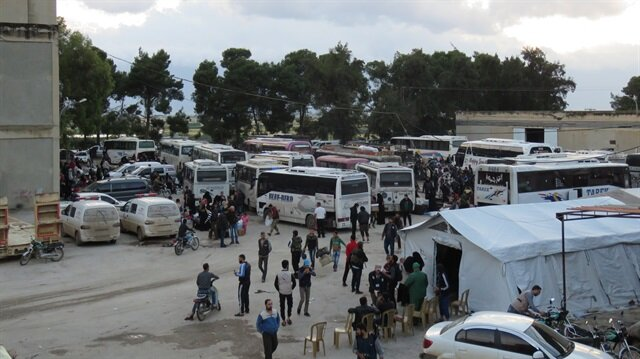 Compulsory evacuations from Syria's Homs