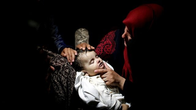 8-month-old Laila al-Ghandour: Gaza's youngest martyr