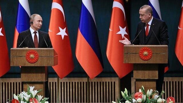 Erdoğan'dan Putin'e Filistin telefonu