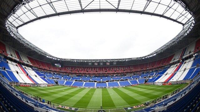 Marsilya-Atletico Madrid maçı Lyon'un stadında oynanacak.