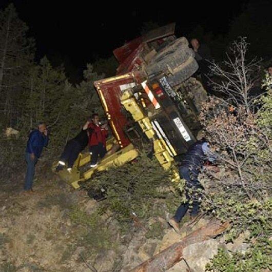 Kazadan 1 saat sonra tekerlerin arasında cansız bedeni bulundu
