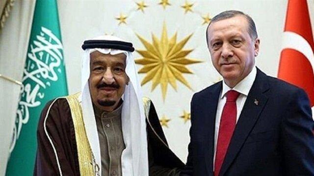 """إتصال هاتفي بين الرئيس التركي والعاهل السعودي حول"""" فلسطين"""""""