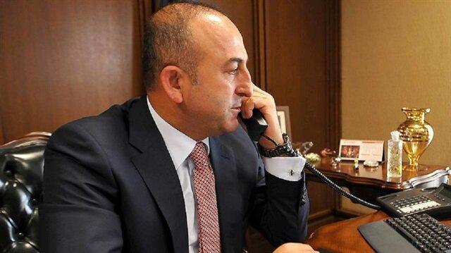 """وزير الخارجية التركي يجري """"دبلوماسية إتصالات"""" مكثفة مع نظرائه"""