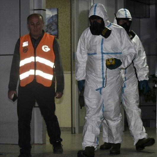 Gümüşhane Üniversitesi laboratuvarında patlama
