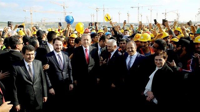 Cumhurbaşkanı Erdoğan'ı bekliyor, bir ilk yaşanabilir