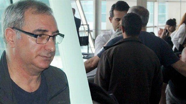 İsrail Büyükelçisi havalimanından böyle geçti