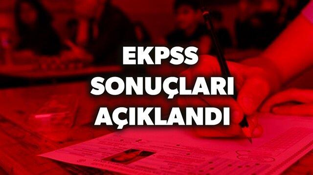 EKPSS sonuçları sorgulama sayfası haberimizde.