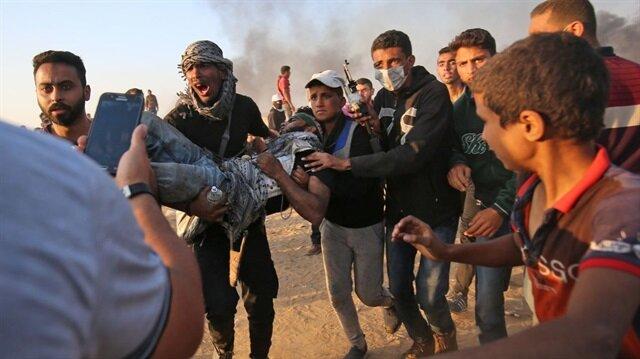 İsrail'in yaraladığı 54 Filistinli bitkisel hayatta