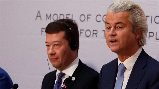 Hollanda'daki Özgürlükler Partisi Lideri Geert Wilders (Fotoğraf: Reuters)