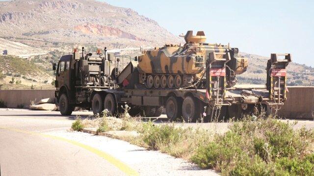 TSK, İdlib'de ateşkes gözlem noktaları kurulması çalışmalarını tamamladı.