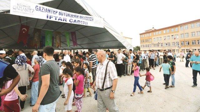 Gaziantep Büyükşehir Belediyesi, 11 ayın sultanı ramazan ayı için hazırlıklarını tamamladı.