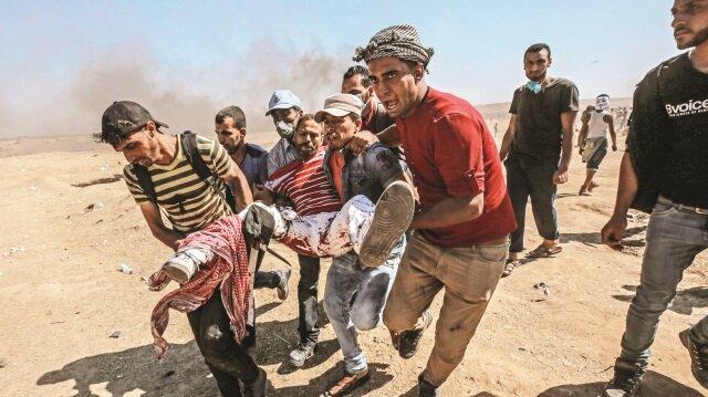 İsrail ve Mısır, Türkiye'nin yardımını engelledi.