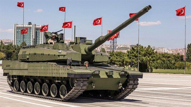TSK'nin karadaki en etkili vurucu gücü olacak olan Altay tankının seri üretimine geçiliyor