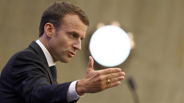Macron işgalci İsrail'in Gazze'ye yönelik saldırılarını kınadı