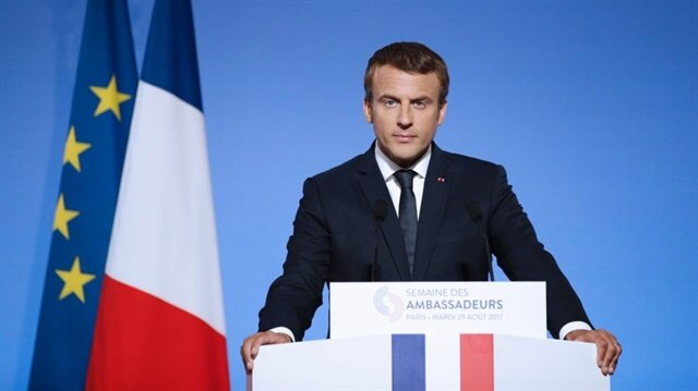Macron'dan İran açıklaması: Rusya ve Çin'i güçlendirir