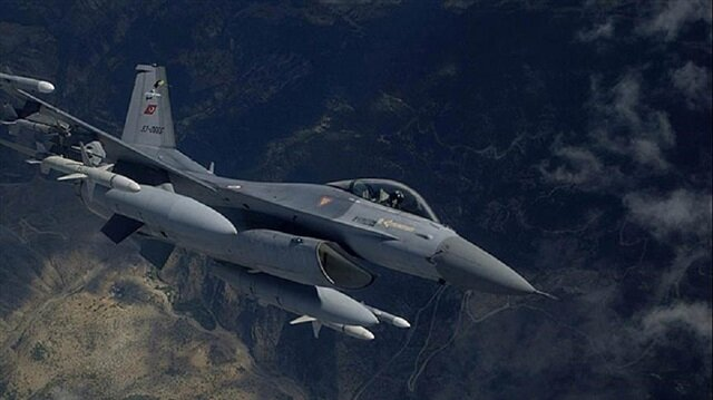 TSK'dan Hakkari'de hava operasyonu