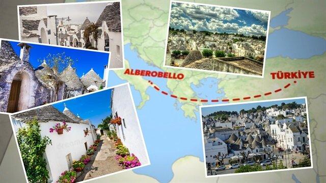 Harran'a kardeş Alberobello