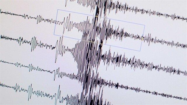Çanakkale'de 3.3 şiddetinde deprem meydana geldi.