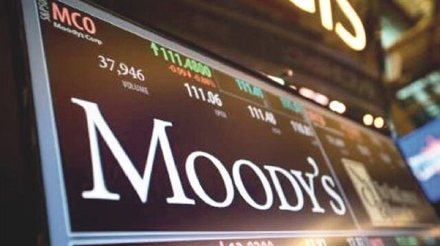 Moody's'ten dün sözlü olarak övgü geldi.