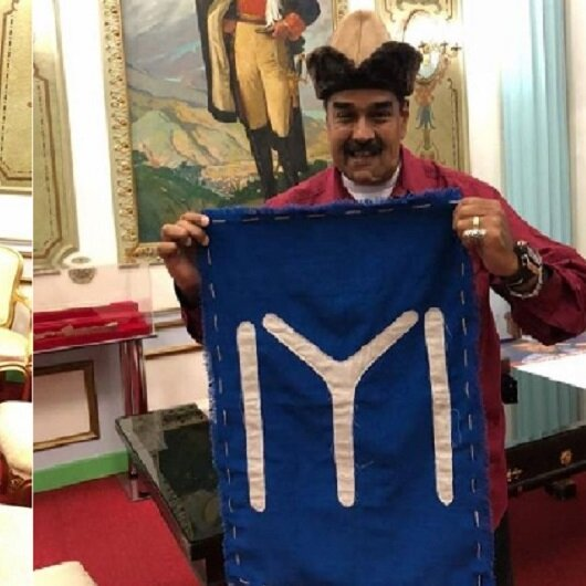 Venezuela Devlet Başkanı Maduro Diriliş Ertuğrul hayranı çıktı